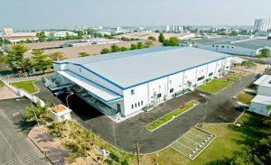 The company builds a factory in Vietnam