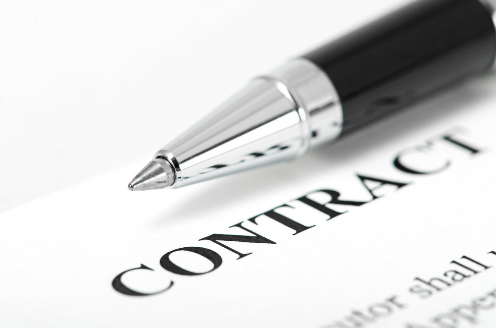 The terms of the contract