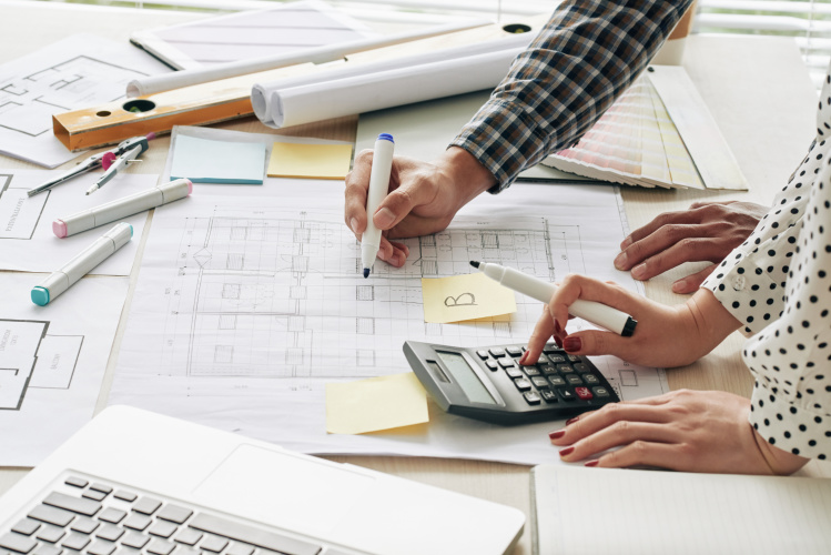 Right estimate for industrial construction project