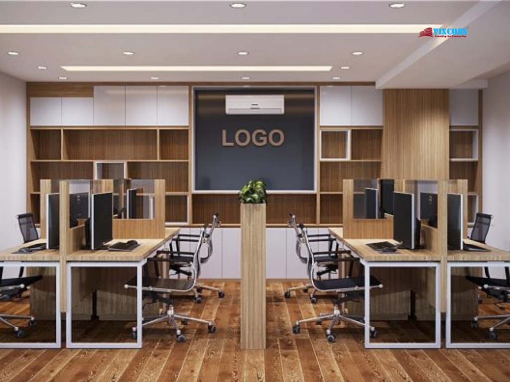 Office design should identify the brand