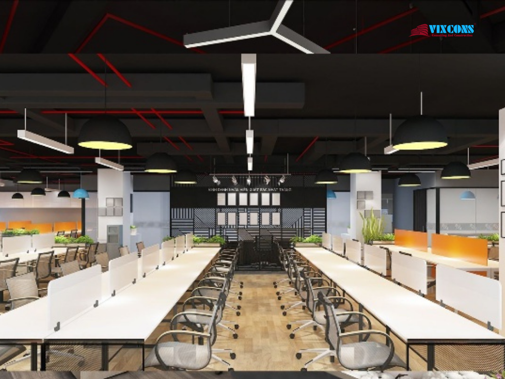 Office design of Nhat Cuong Software