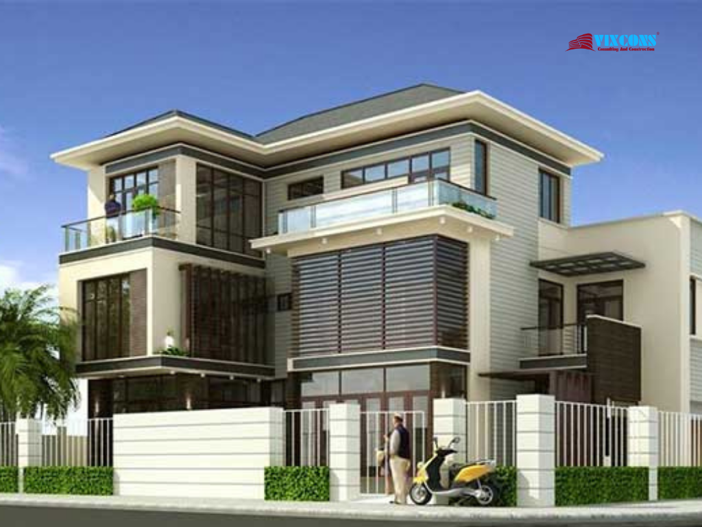 Choose the villa design to suit the needs and style of the owner